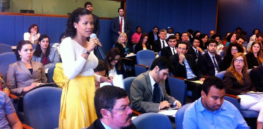 Sílvia Campos, da organização Mirim Brasil.