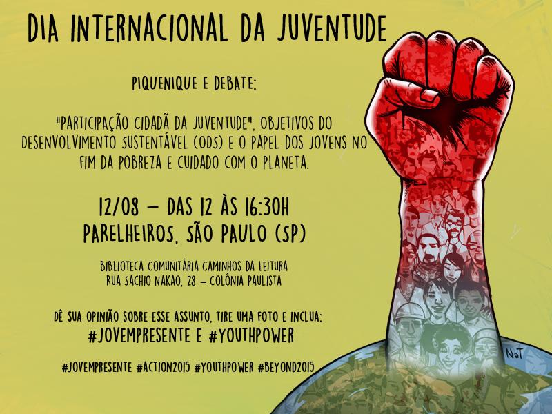 DIA DA JUVENTUDE - convite