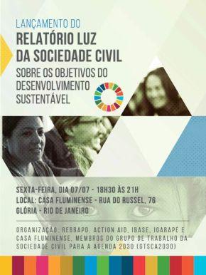 Lançamentos do Relatório Luz no Brasil: Rio de Janeiro, Recife e SãoPaulo